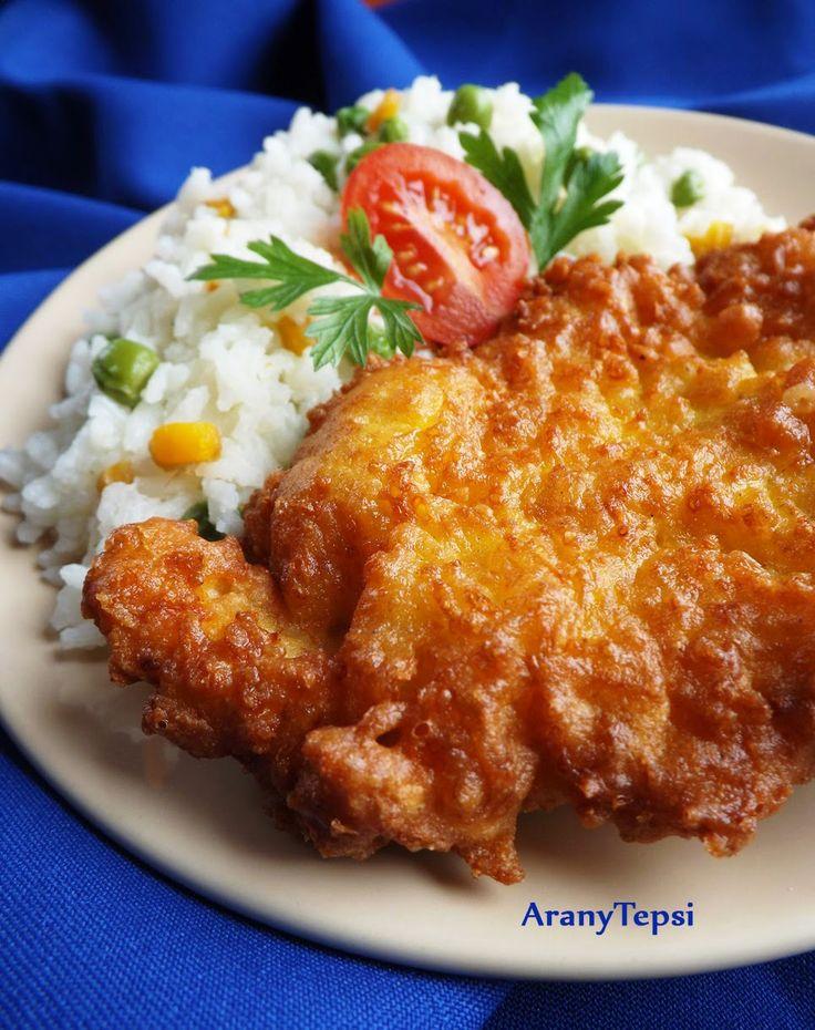 AranyTepsi: Sajtos-kukoricalisztes bundában sült csirkemell