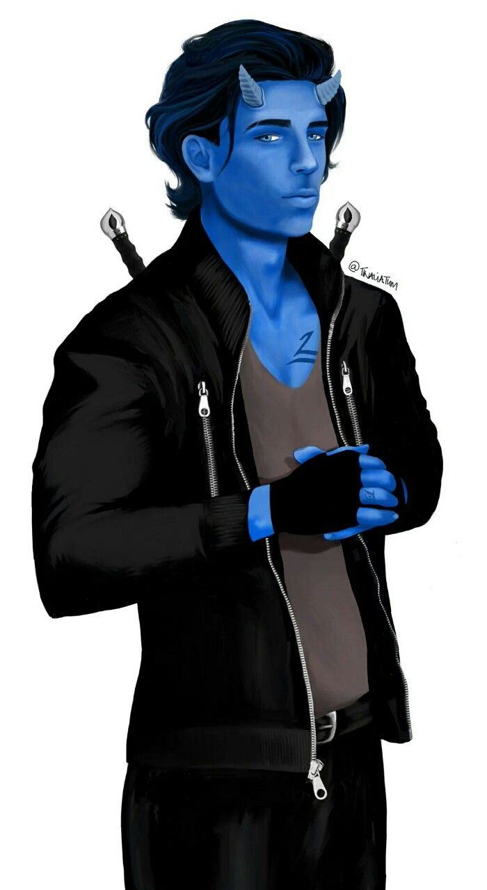 Max Lightwood-Bane, all grown up ... From tinaliatum ... max lightwood bane, blueberry, the mortal instruments, the dark artifices, little one
