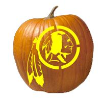 Redskins.com | Pumpkin Stencils