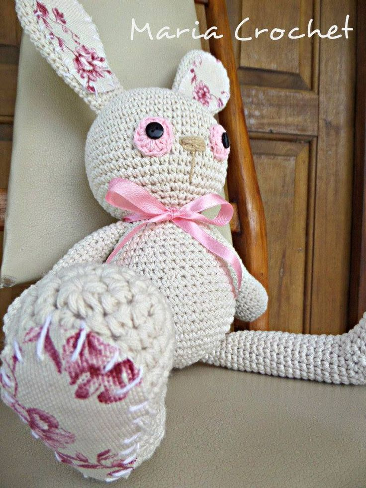 conejo a crochet