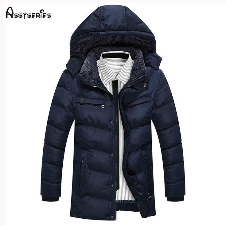 <b>2018</b> Winter New <b>Men's Cotton</b> Padded <b>Jacket</b> Casual <b>Men Parkas</b> ...