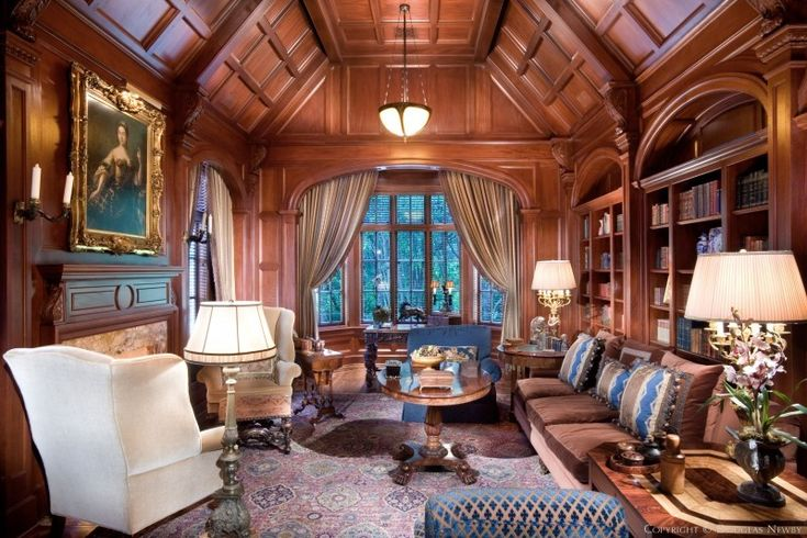 Larry Boerder Designed Edwardian Significant Home Interior Designs Pinterest Modern Castle