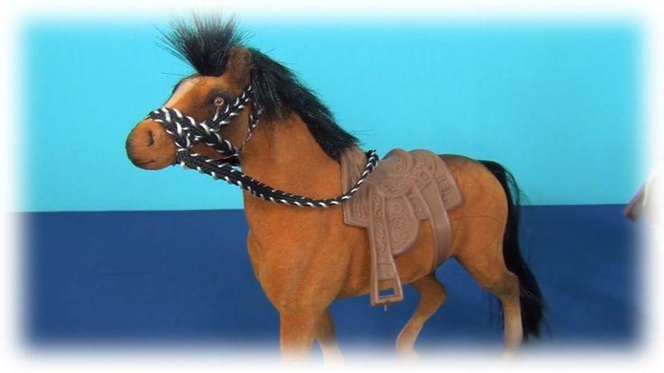 Игрушечная лошадка. Три факта о лошадях. Распаковываю игрушечную лошадь.