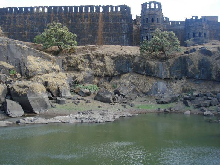 Raigad Fort, Mahad, Raigad district, Maharastra, India.
