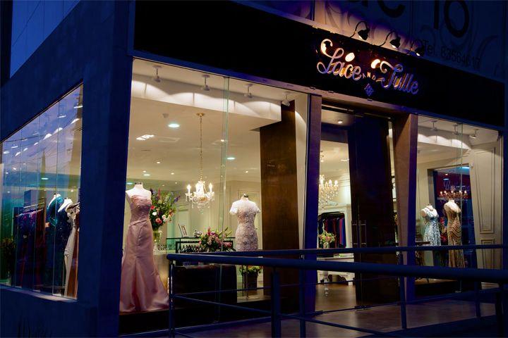 Дизайн интерьера бутика Lace & Tulle в Сан Педро, Мексика