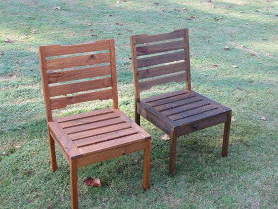 Free DIY Furniture Plans to Build a Rustic Outdoor Chair