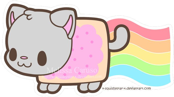 Squishy Nyan Cat by x-SquishyStar-x on deviantART