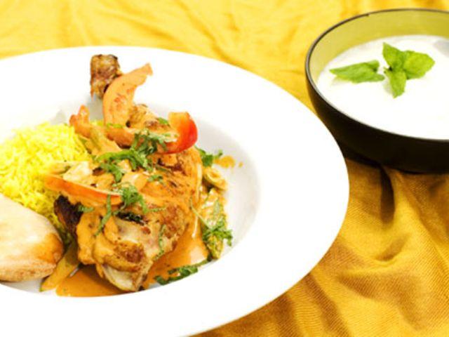 Chicken tikka masala (kock Stefan Svensson)