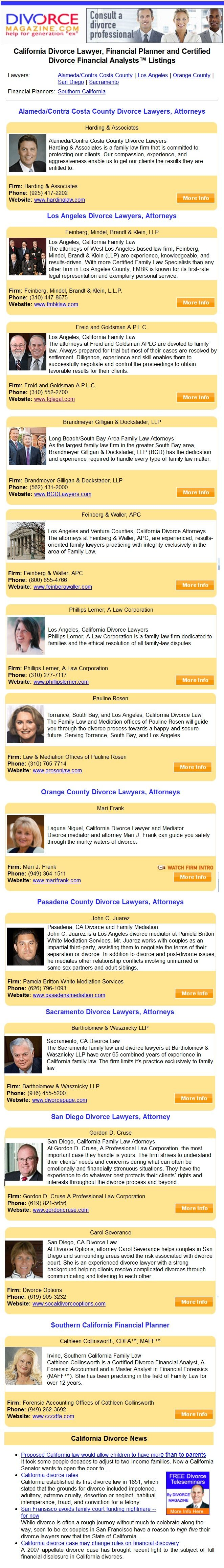 219 best divorce magazine images on pinterest magazine divorce california divorce magazine provides resources for the state of california on divorce divorce law solutioingenieria Gallery