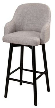 Abbyson Living Baylee Upholstered 32-Inch Bar Stool - Abbyson