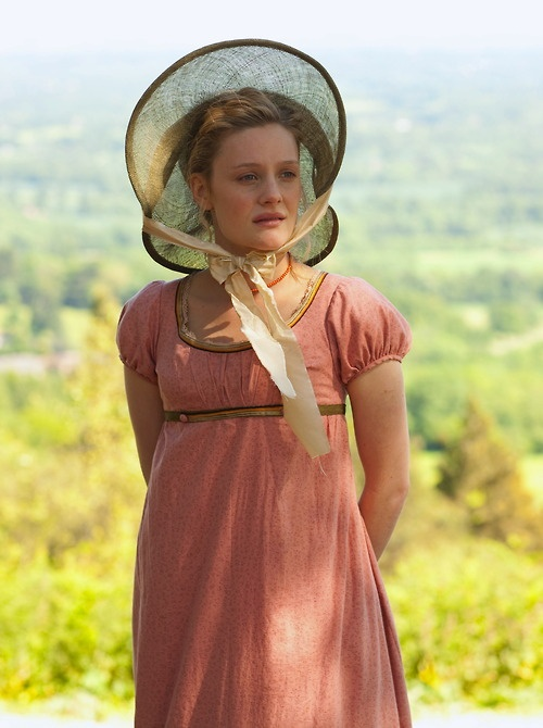 Romola Garai as Emma Woodhouse inEmma (TV Mini-Series, 2009).  Would do this for myself but with a much higher neck line!!!