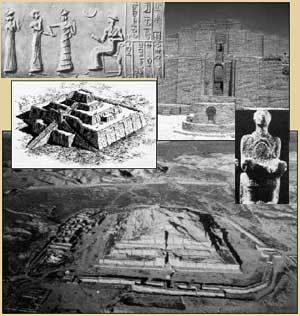 After the flood eventually all of Noah's decendants migrated to the Plains of Shinar in Babylonia. The religion formed by Cush (who was also known by other various names such as the god Bel/Nebo Janus/Hermes and also known as the False Prophet) and Nimrod was the beginning of polytheism,or the worship of many gods. The first ancient empire was formed - the Chadlean Kingdom ( Summerian Kingdom).
