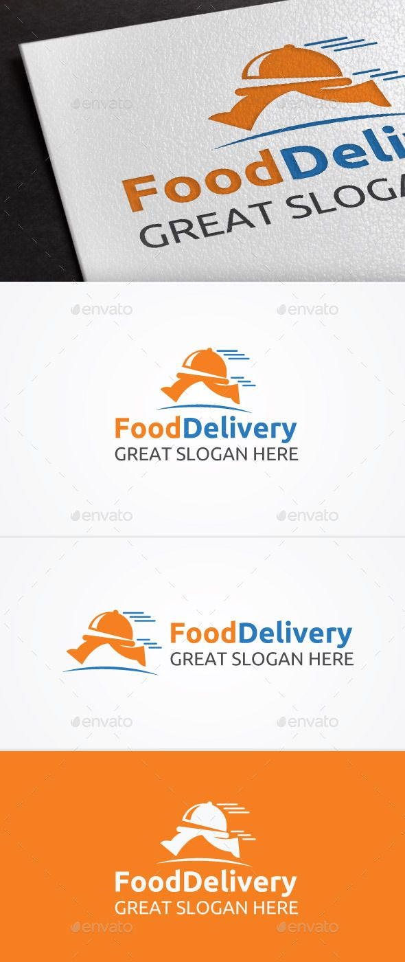 Food Delivery Logo — Vector EPS #food delivery #eat • Available here → https://graphicriver.net/item/food-delivery-logo/12670747?ref=pxcr