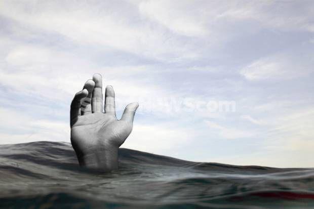 Tenggelam di Kali Ciliwung Jasad Bocah 15 Belum Ditemukan