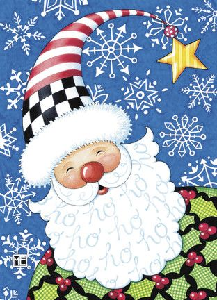 I love this Mary Engelbreit Santa card