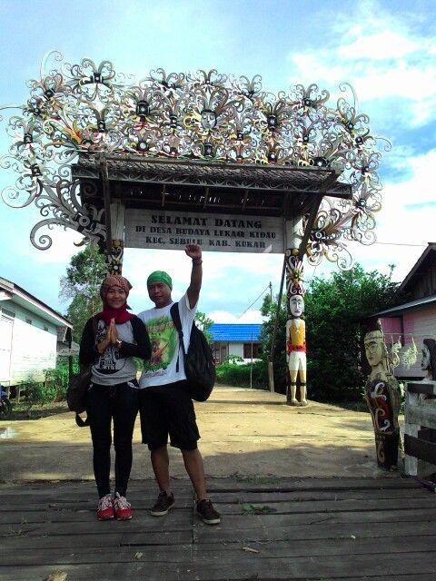 Desa Budaya Lekaq Kidau - kecamatan Sebulu / Kutai Kartanegara