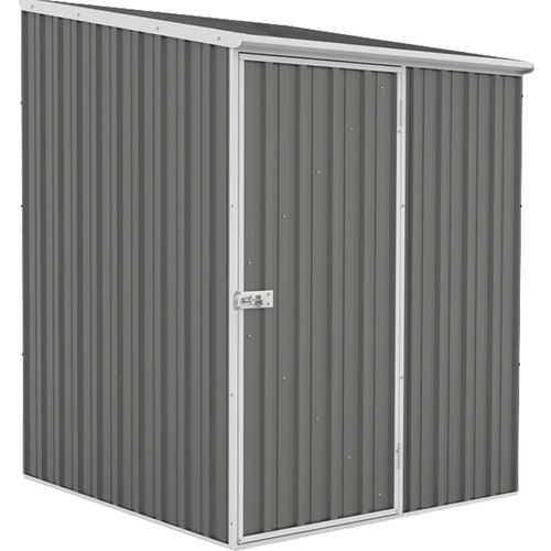 Absco Spacesaver Garden Shed 1.52m x 1.52m in Woodland Grey