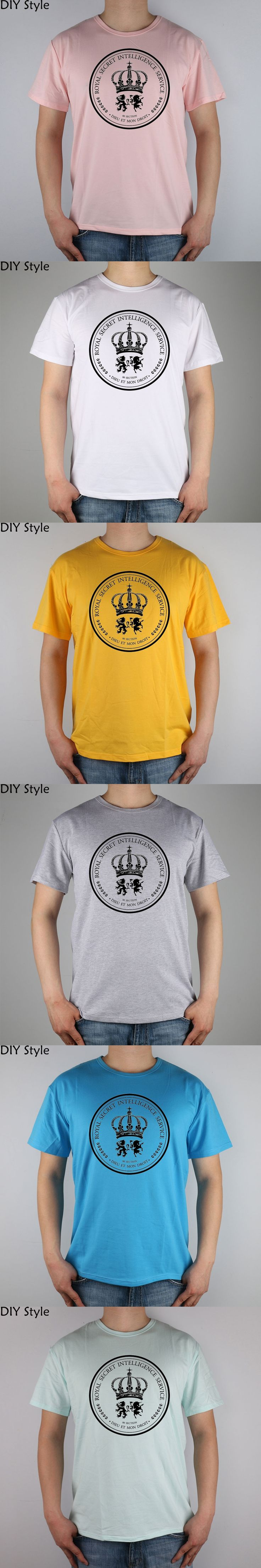 Mi6 Secret Intelligence James Bond Men Short Sleeve t-shirt New Arrival Fashion Brand T Shirt