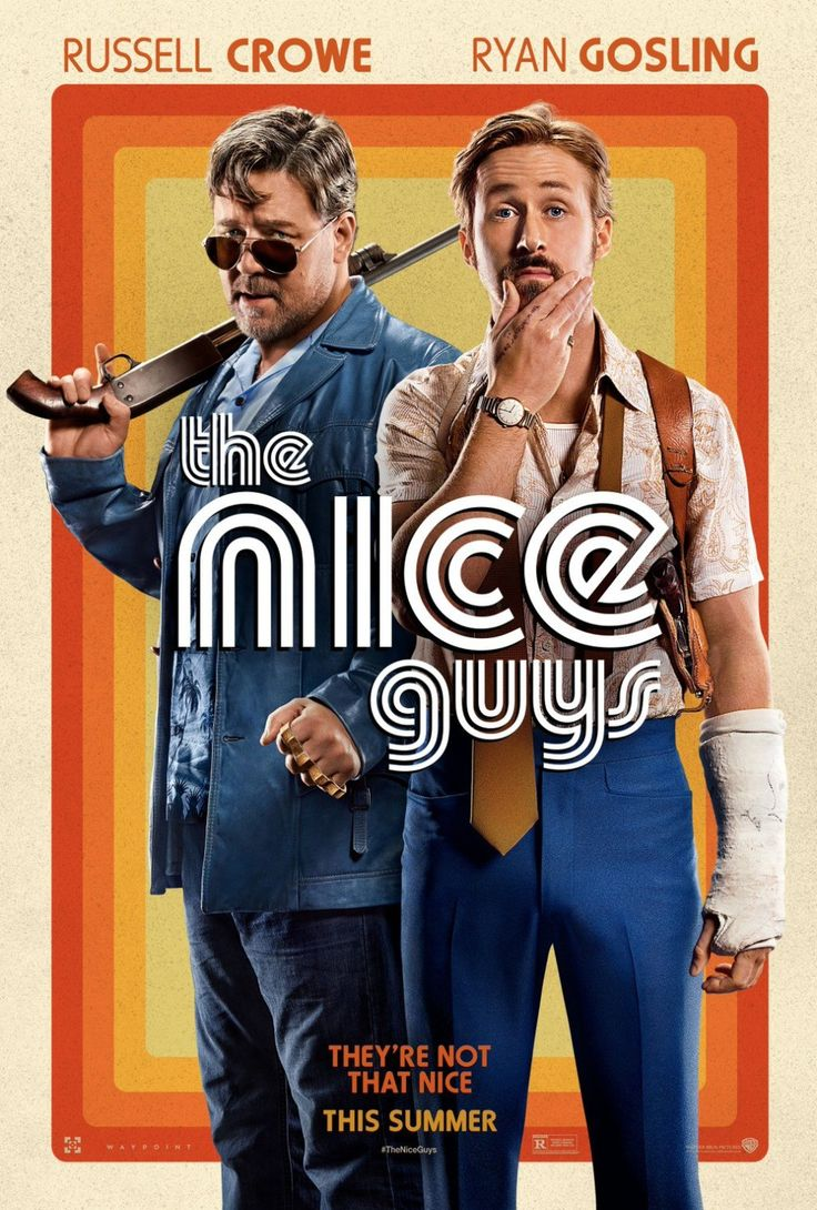 Read Matt Goldberg's The Nice Guys review; Shane Black's film stars Russell Crowe, Ryan Gosling, Angourie Rice, Margaret Qualley, and Kim Basinger.