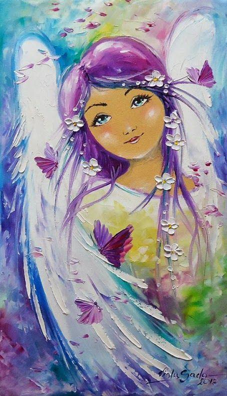 Angels  Anjos & Borboleta