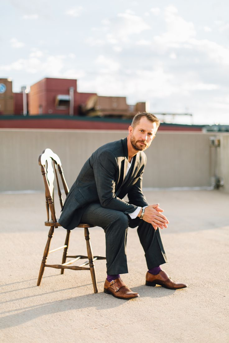 Urban shoot, poses for men, male model, GQ, city photo shoot, groom, groom portraits, gentleman, mens fashion, suits, cool suits, photoshoot inspiration, downtown photoshoot, city scape, city scape photoshoot, men with tattoos, business man, vsco