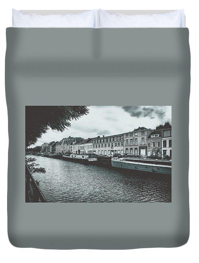 Travel Duvet Cover featuring the photograph Somewhere In Gent. Part 2 by Elena Ivanova IvEA   #ElenaIvanovaIvEAFineArtDesign #ForHome #DuvetCovers #Gift