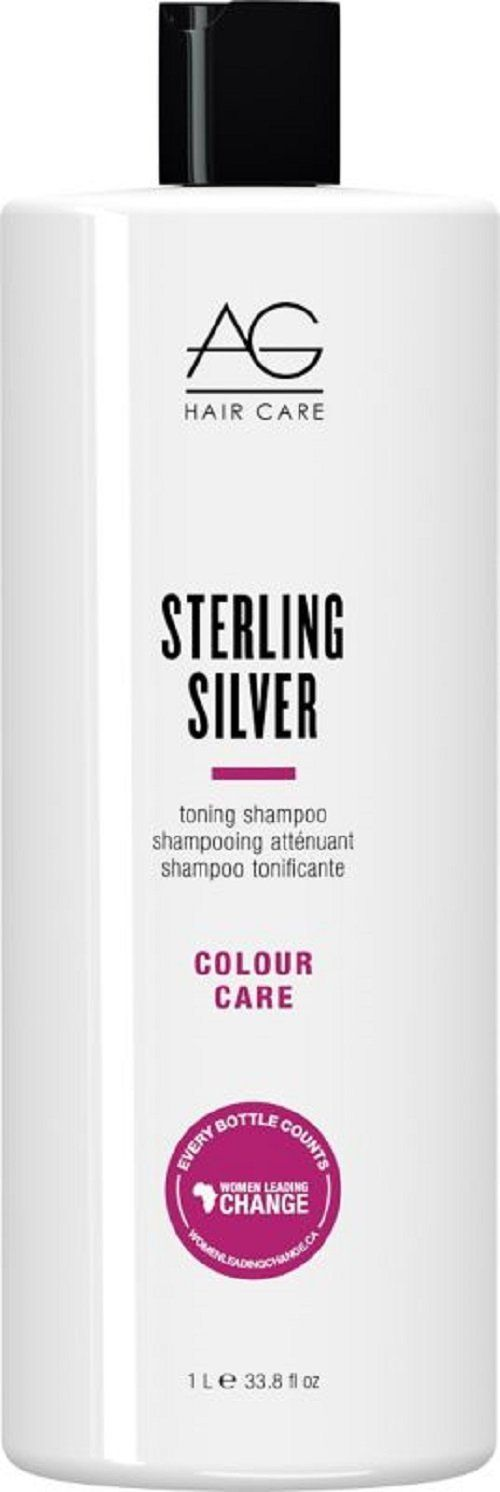 AG Hair Cosmetics: AG Colour Care Sterling Silver Shampoo, 1 Liter *** More info could be found at the image url.
