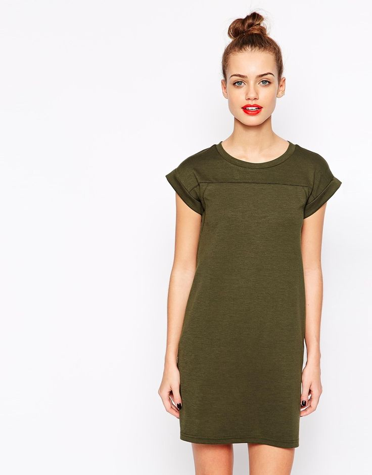 Image 1 of New Look Utility Tshirt Dress