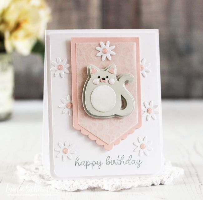 Cuddly Cat Birthday by Laurie Schmidlin
