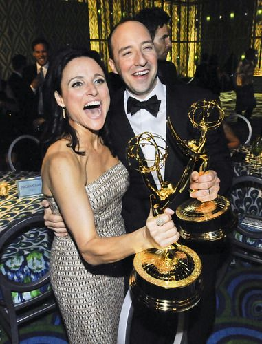 Julia Louis-Dreyfus and Tony Hale #VEEP #Emmys