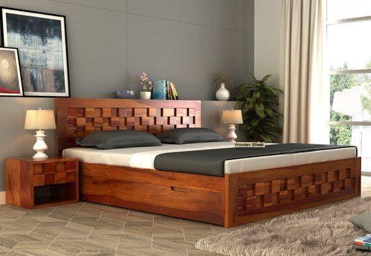 Image Result For King Size Bed Wood Bed Design Wooden Bed Design Simple Bed Designs