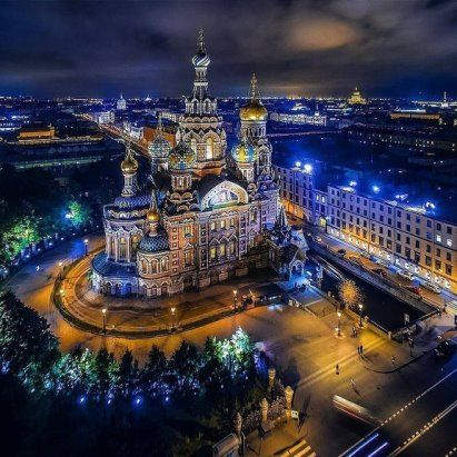 Храм Спас-на-крови Петербург