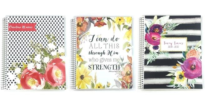Gorgeous personalized notebooks on sale on Jane.com!  Choose from over 30 covers plus personalization.  A high quality item at an amazing price!
