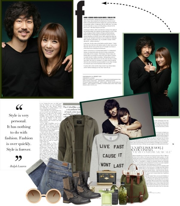 """""""Yoon Mi Rae and Tiger JK"""" by dragongirl142 ❤ liked on Polyvore"""
