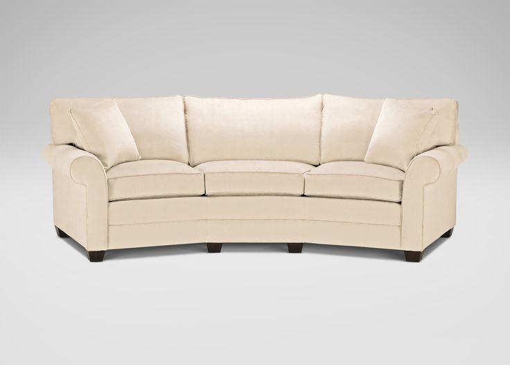 Best Conversation Sofas Images On Pinterest Sofas A Well And - Conversation sofa ethan allen bennett roll arm