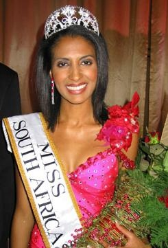 Joan Ramagoshi miss south africa 2003