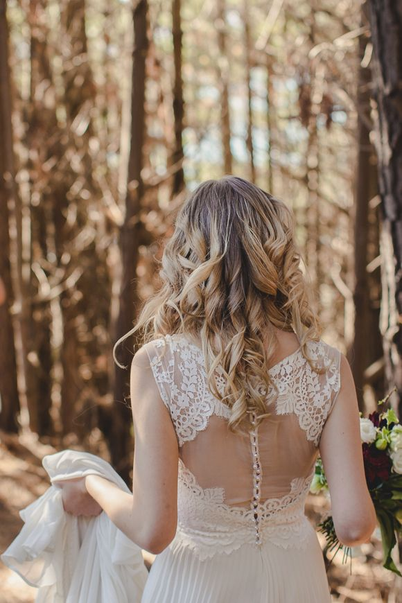 Bridal Gown: Sally Eagle Bridal - Into the Forest Inspiration by James Broadbent - via Magnolia Rouge