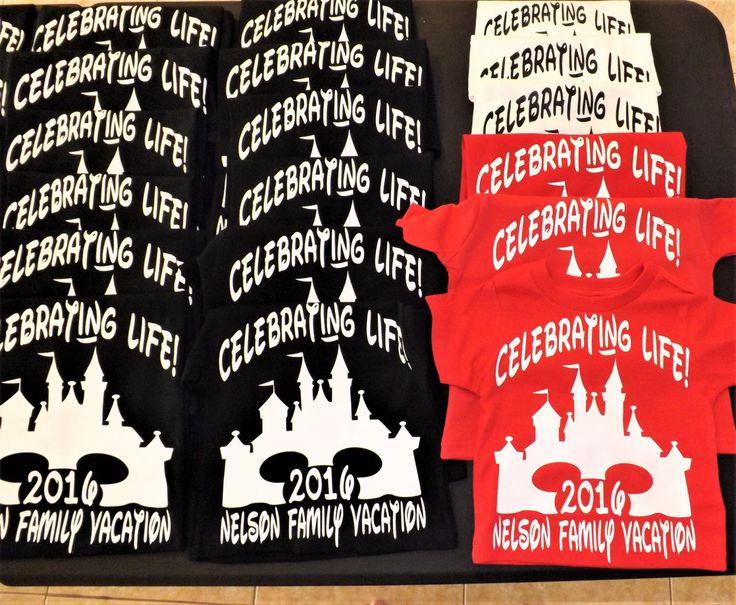 Disney Family shirt, Disney Family shirts customized with text, Family Reunion, Family matching shirts, Disney shirt personalized with text by CuteCreativesCreatio on Etsy https://www.etsy.com/listing/496625119/disney-family-shirt-disney-family-shirts