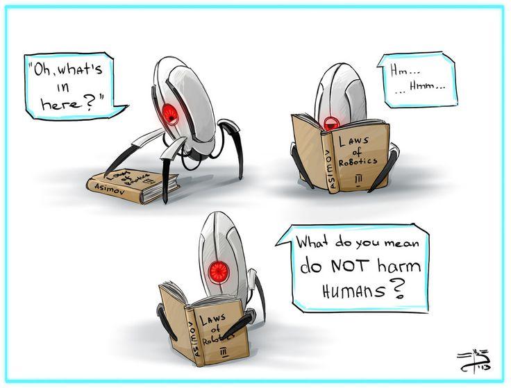 Three Laws of Robotics by Bast-Imret