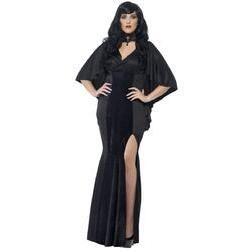 Disfraz de vampiresa gótica talla grande para mujer