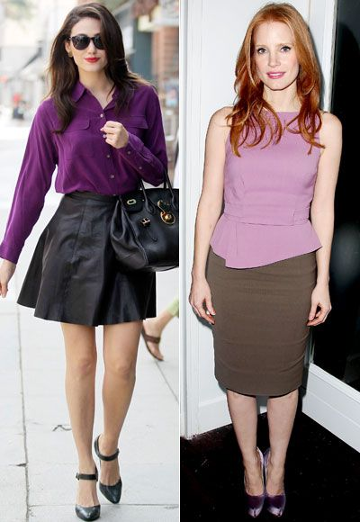 Dressing for Work Outfit Ideas: Tips on Working Spring Fashion Trends into the Office    We all want to look fashionable 24 hours a day, but adding a dose of style between 9 and 5 can be a challenge. Try our work-appropriate tips to incorporate spring's trends into your office looks (without getting a call from HR.)