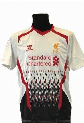 Liverpool away 2013/14