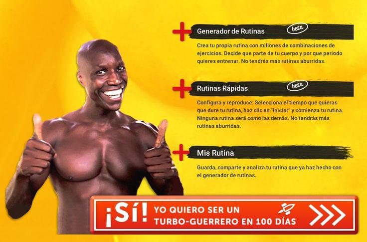 Prueba este gran desafío TURBO100, por 100 días tendrás una rutina diferente y tu cuerpo será otro! http://www.turbofausto.com #desafio #turbofausto #fitness #sportathome #sport #rutina #ejercicio #turbo100 #loveit