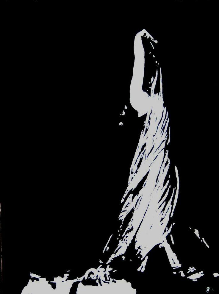 """""""Bailarina"""" óleo sobre tela. 80x60cm. para venda..."""
