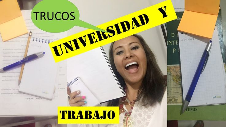 TIPS  en la Universidad,   (COLLEGE  LIFE)  ! Vive la Universidad!!