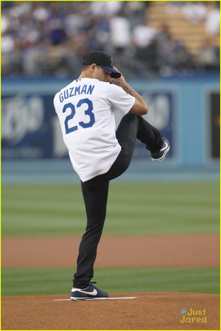 ryan guzman dodgers first pitch pics 02                              …