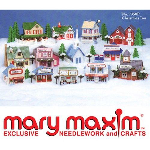 Mary Maxim - Ye Old Christmas Inn Pattern
