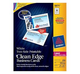 8 best portable partitions images on pinterest portable avery laser clean edge two side printable business cards 2 x 3 12 white pack of printable on both sides using most inkjet printers at office depot reheart Image collections
