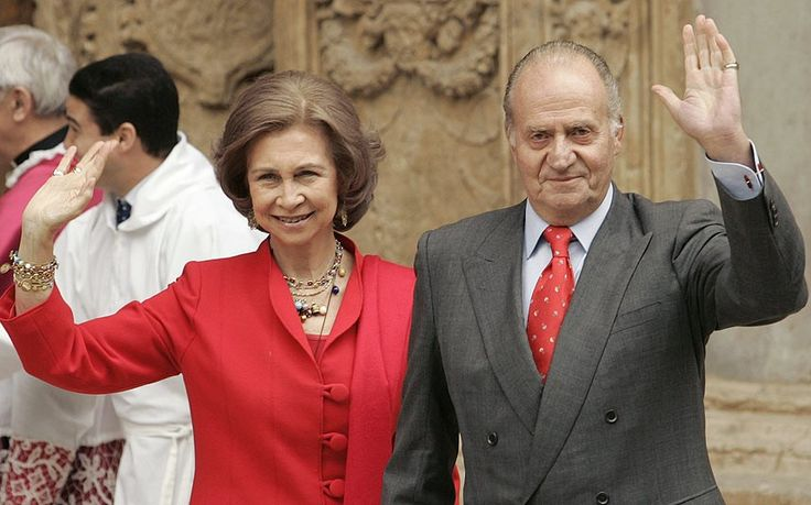 Spain's King Juan Carlos and Queen Sofia, announced his abdication 2 June 2014