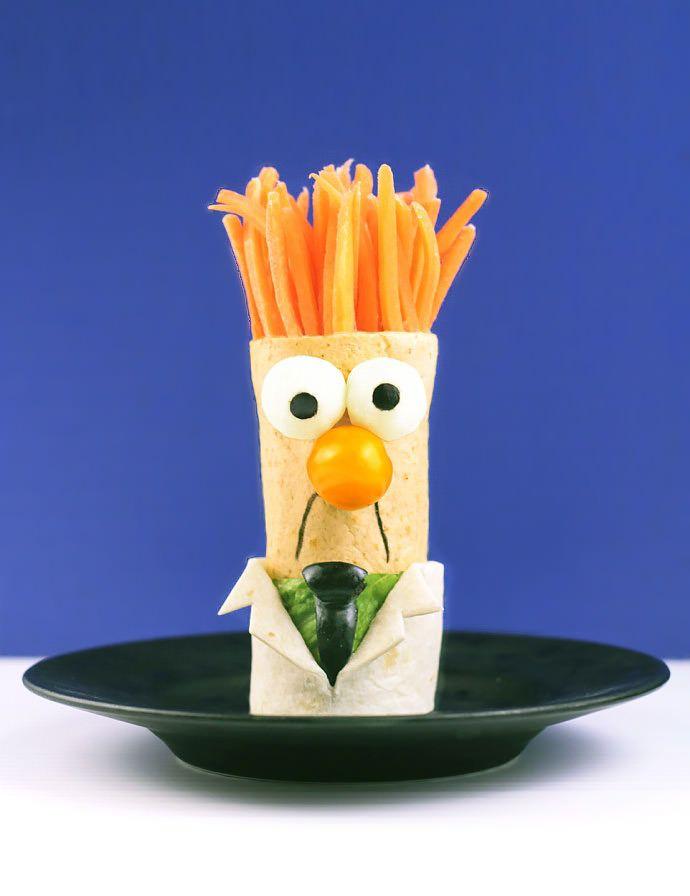 Muppets Recipe: Beaker BLT Wraps